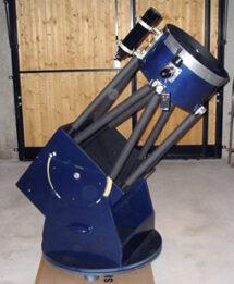 Photo du dobson 400mm fabriqué par des membres de la SAFGA