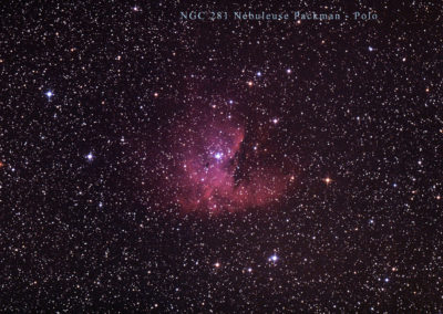 Nébuleuse NGC 281 dite Packman par polo