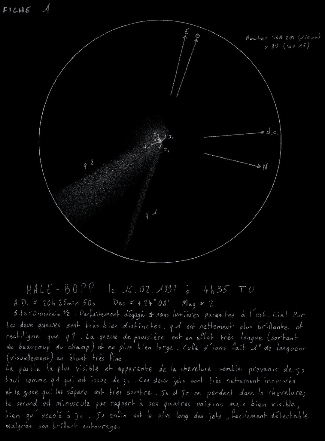 Comète Hale-Bopp, Damien Szymanski