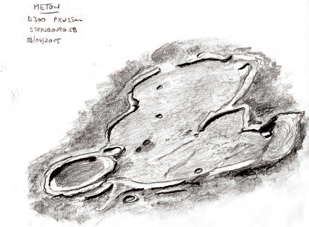 Cratère Meton, Benoît Zeller
