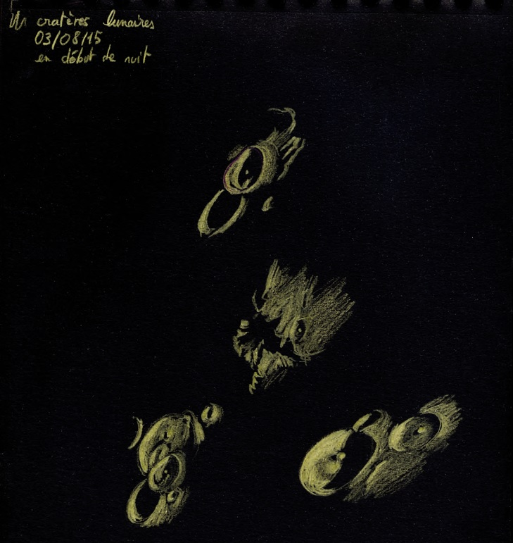 Cratères lunaires, Sandy Gertz