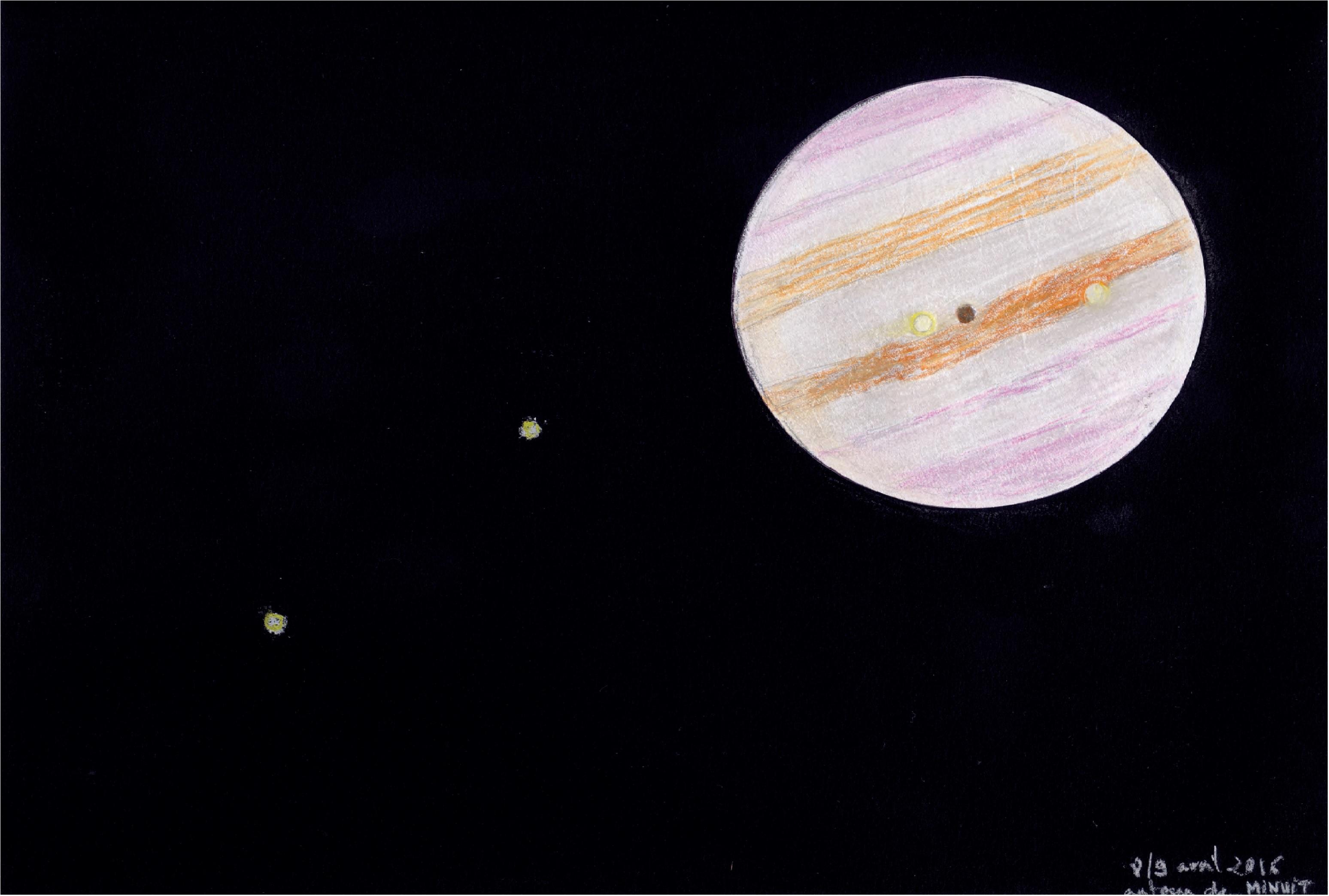 Jupiter et ses satellites Fédéric Dushesne 2
