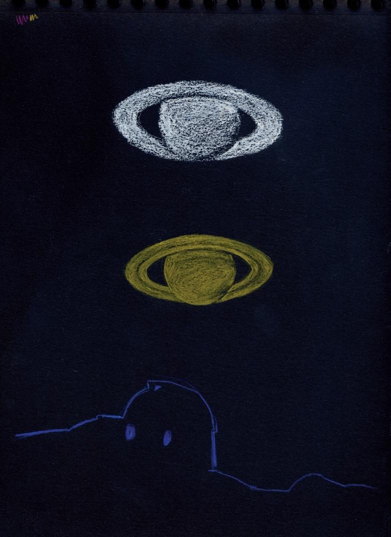 Saturne et ses anneaux Sandy Gertz