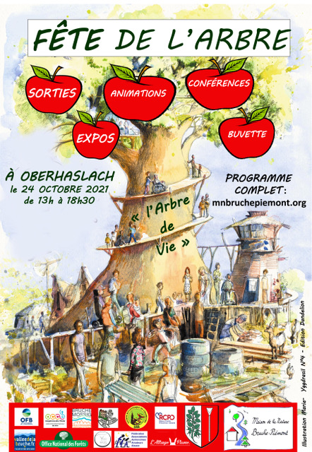 24 oct 2021 Fête de l'Arbre Oberhaslach